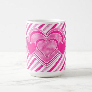 Valentine's Day - Pretty Pink Hearts Coffee Mug