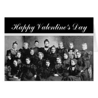 Valentine's Day Secret Admirer Vintage Greeting Card