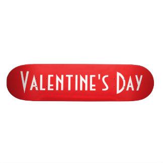 Valentine's Day Skateboard