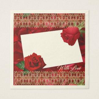 Valentine's Day Tissue Paper Disposable Napkin