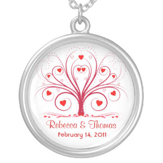Valentine's Day Wedding Pendant Necklace