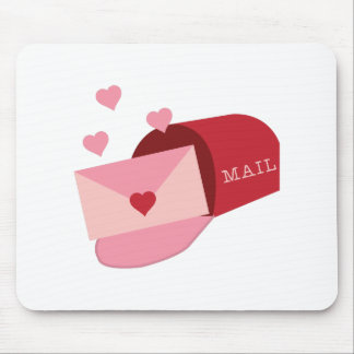 Valentines Mail Box Mousepad