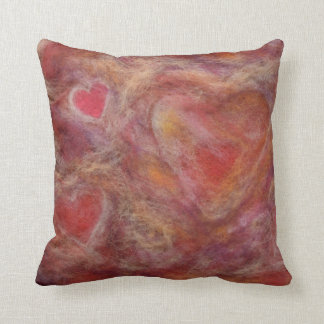 Valentine's Red Heart Pillow