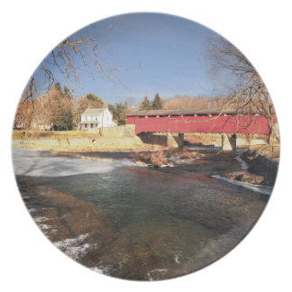 Valley Covered Bridge Plate