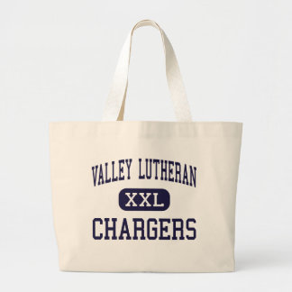 Valley Lutheran - Chargers - High - Saginaw Canvas Bag