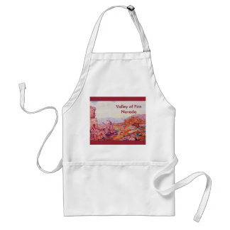 Valley of Fire - Colorful Nevada Desert Standard Apron
