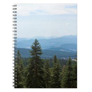 Valley View on Mt Shasta Notebook