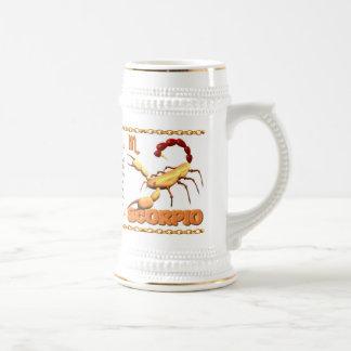 Valxart 1955 2015 2075 WoodSheep zodiac Scorpio Beer Stein