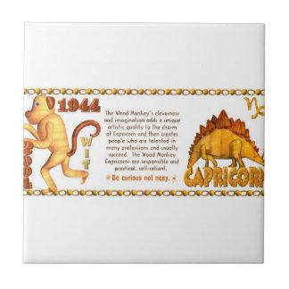 Valxart 1956 2016 2076 FireMonkey zodiac Capricorn Ceramic Tile