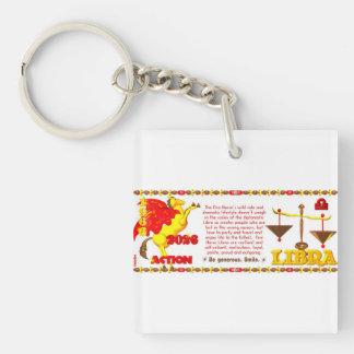 Valxart 1966 2026 Fire Sheep zodiac Libra Key Ring