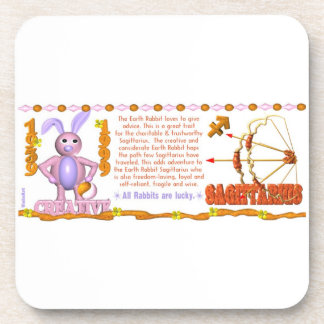 Valxart 1999 1939  zodiac EarthRabbit Sagittarius Coaster