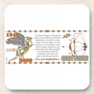 Valxart 2000 1940  zodiac MetalDragon Sagittarius Coaster