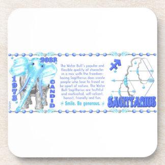 Valxart's 1974 WoodTiger  zodiac born Sagittarius Coaster
