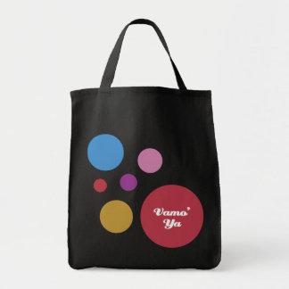 Vamo' Ya Polka Dots Canvas Bag