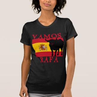 Vamos Rafa With Flag of Spain T-Shirt