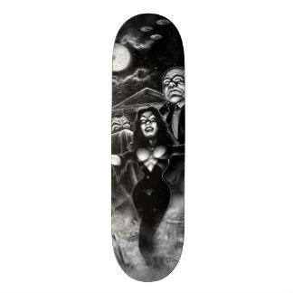 Vampira Plan 9 zombies 21.3 Cm Mini Skateboard Deck