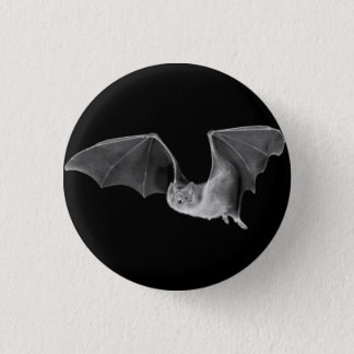 VAMPIRE BAT 3 CM ROUND BADGE