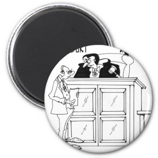 Vampire Cartoon 5319 Magnet
