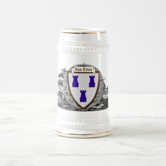 Van Etten Family Arms Beer Stein