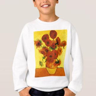 Van Gogh 15 Sunflowers Sweatshirt