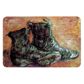 Van Gogh - A Pair Of Shoes Rectangular Photo Magnet