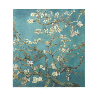 Van Gogh Almond Branches In Bloom Notepad