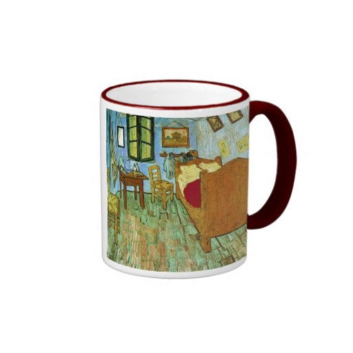 Van Gogh Bedroom (F484) Fine Art Coffee Mugs