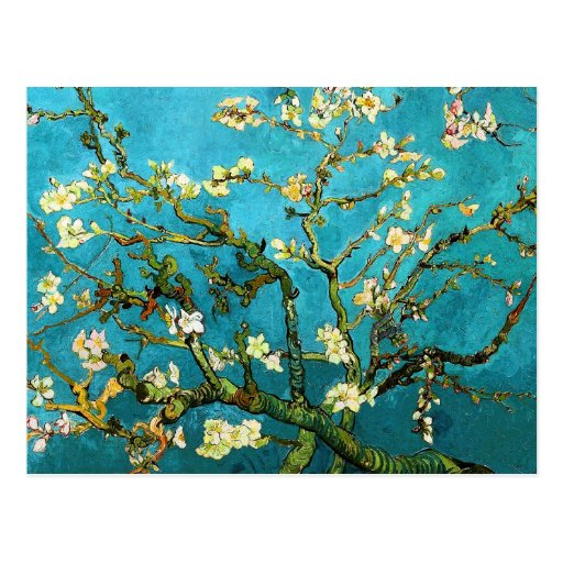 Van Gogh Blossoming Almond Tree (F671) Fine Art Post Cards