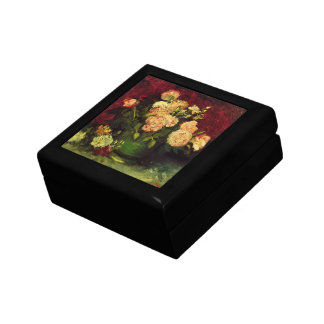 Van Gogh Bowl with Peonies and Roses, Fine Art Gift Box