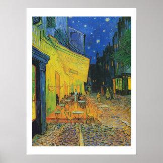 Van Gogh | Cafe Terrace at Night | 1888 Poster