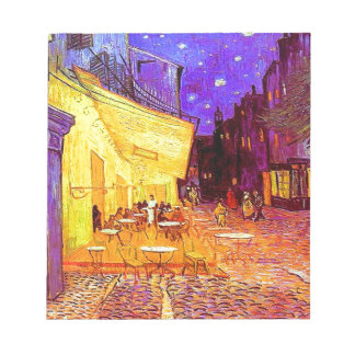 Van Gogh Cafe Terrace at Night Notepad