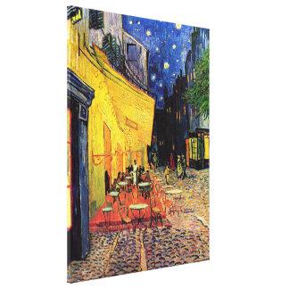 Van Gogh, Cafe Terrace at Night, Vintage Fine Art Canvas Print