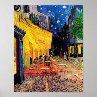 Van Gogh Cafe Terrace (F467) Vintage Fine Art Poster