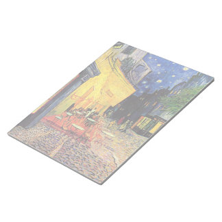 Van Gogh Cafe Terrace on Place du Forum, Fine Art Notepad