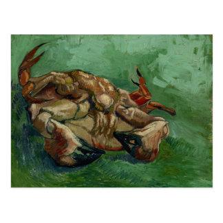 Van Gogh | Crab on its Back | Change of Address Postcard