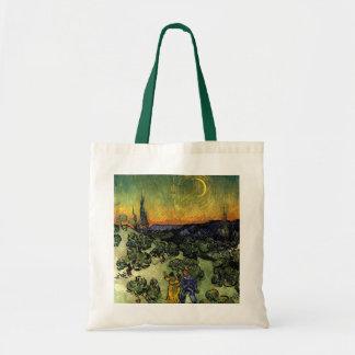 Van Gogh: Evening Promenade Budget Tote Bag