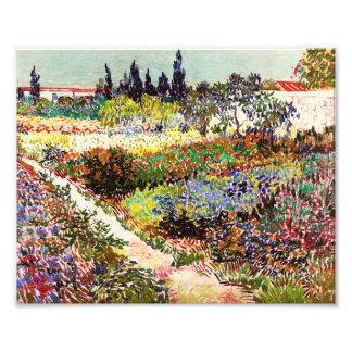 Van Gogh Flowering Garden At Arles Floral Fine Art Art Photo