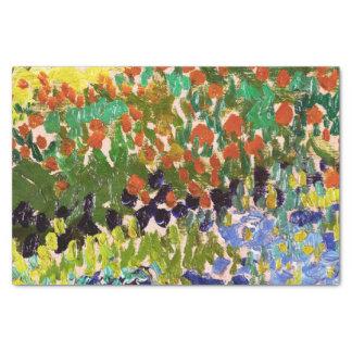 Van Gogh Flowering Garden At Arles Floral Fine Art Tissue Paper