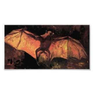 Van Gogh Flying Fox Print Photographic Print