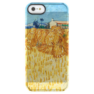 Van Gogh; Harvest in Provence Clear iPhone SE/5/5s Case