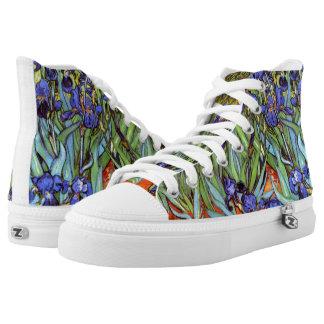 Van Gogh: Irises Printed Shoes