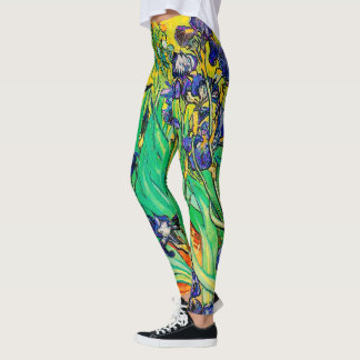 Van Gogh Irises/Purple/St. Remy Leggings