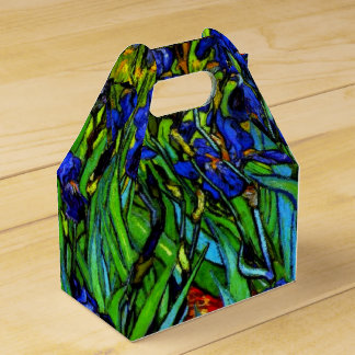 Van Gogh - Irises Wedding Favour Box