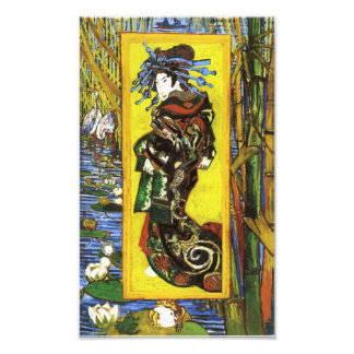 Van Gogh Japonaiserie Oiran Print Photograph