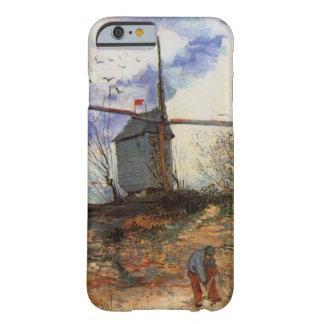 Van Gogh Le Moulin de la Galette, Vintage Windmill Barely There iPhone 6 Case