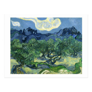 Van Gogh | Olive Trees | Change of Address Postcard