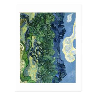 Van Gogh   Olive Trees   Change of Address Postcard