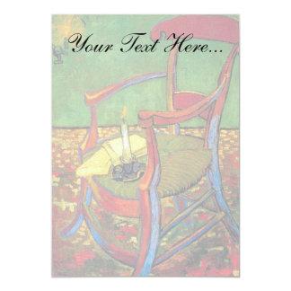 Van Gogh - Paul Gauguin's Armchair 13 Cm X 18 Cm Invitation Card