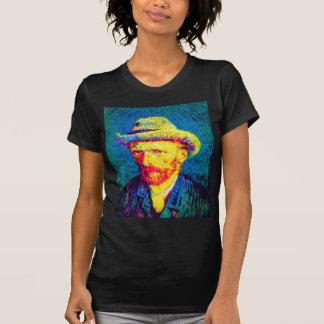 Van Gogh - Pop Art Self Portrait With Grey Hat Tees
