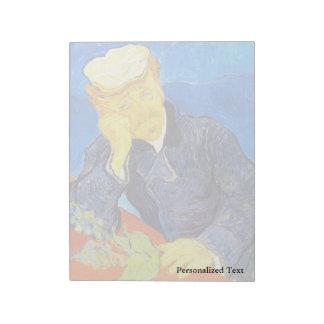 Van Gogh | Portrait of Dr. Gachet Notepad